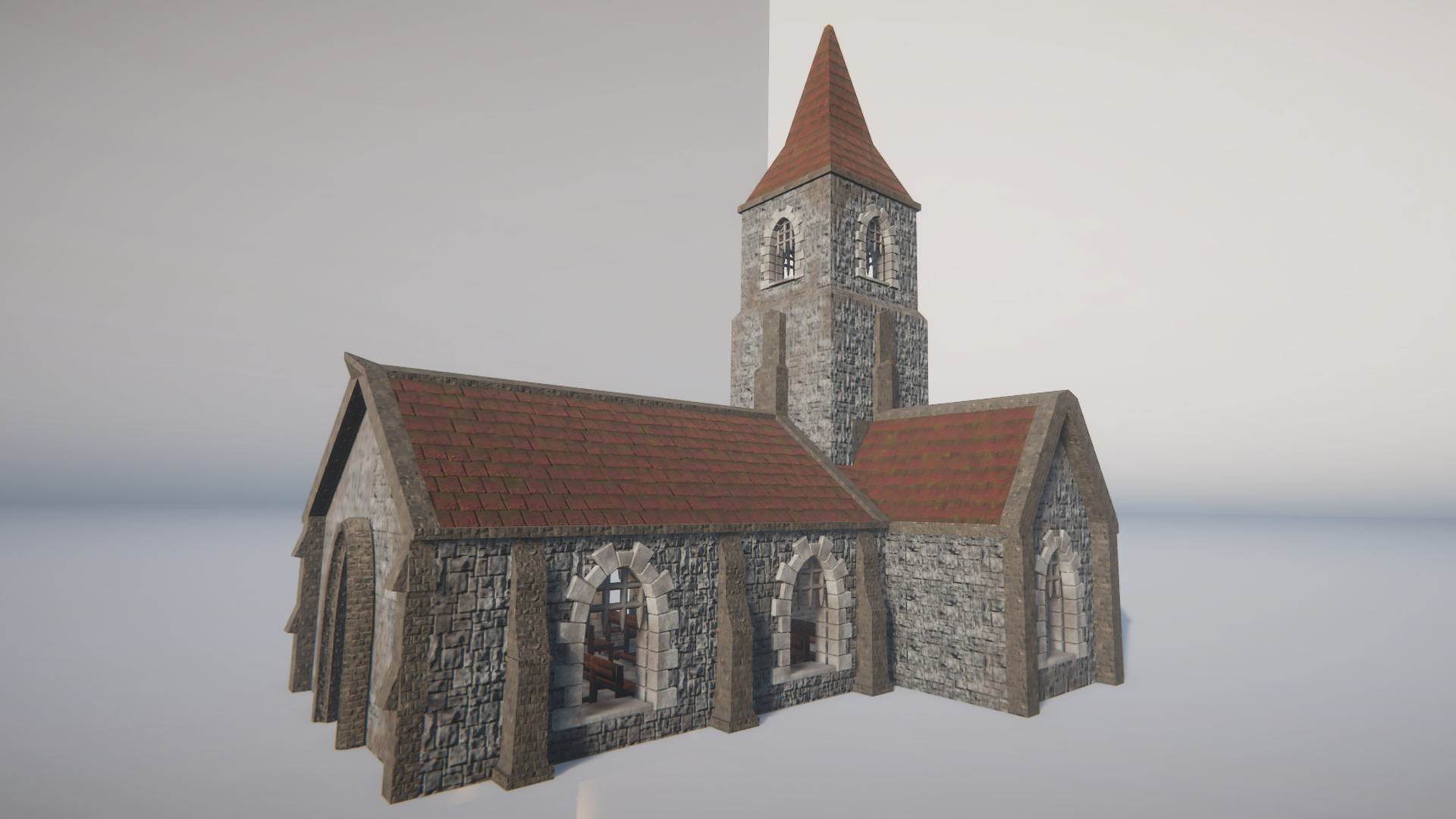 Church Render Stefan Volkers
