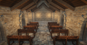 Stefan Volkers Church render in Unity